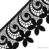 ウェディングドレスのレースの新しい方法織物の刺繍のレースのトリムのためのナイロンまつげのレース