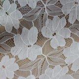 Telas Corded algodón francés del cordón del bordado para la ropa