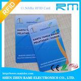 Carte à puce de proximité d'IDENTIFICATION RF de carte d'IDENTIFICATION RF d'hôpital de PVC 125kHz LF