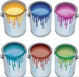 Tintes Semi-Autos que pintan la máquina que capsula, compartimiento de la pintura que llena para los barriles 5-20L