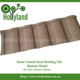 De Tegel van het Dak van het staal met Met een laag bedekte Steen (Roman Tegel)