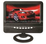"""7 """" affissione a cristalli liquidi Television della TV portatile TFT con la deviazione standard FM del USB"""