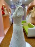 مريحة قصيرة كم عاج عرس ثوب نساء يتزوّج [سرنوني] ثوب [أوو4047]