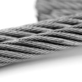 AISI 철강선 밧줄 6*19 중국제