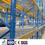 Plataforma resistente galvanizada armazenamento do fio do armazém para o racking da pálete