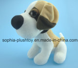 cão de brinquedo animal enchido 20cm do luxuoso