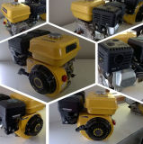 De luchtgekoelde Motoren van de Benzine van het Begin van de Schop voor Automobiele Enige Cilinder