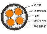 Kupferner Fluorin Plastikisoliersilikon-Gummi umhüllter beständiger (flammhemmender) Hochtemperaturseilzug