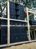 Vt4880 Dual linha PRO linha audio sistema de 18 polegadas da disposição da disposição