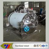 Réplica eléctrica horizontal de la autoclave de la calefacción del acero inoxidable