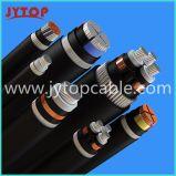 бронированный кабель 3X150mm ленты алюминиевого кабеля 11kv стальной