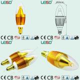 Bulbo de la vela de Scob E14 LED de la viruta del CREE de la patente 5W (LS-B305-GB)