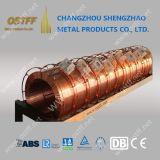 溶接の消耗品MIG/Magの二酸化炭素のガスは同等の穏やかな鋼鉄を溶接するのに使用された銅の溶接ワイヤを保護した
