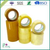 China-Fabrik geben 48mm Tan BOPP die Verpackungs-Band mit starker Adhäsion an