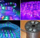 Draht-Farbe der Hochzeits-Dekoration-2, die LED-Seil-Licht ändert