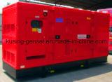 комплект генератора силы 30kVA-2250kVA тепловозный молчком звукоизоляционный с Чумминс Енгине (CK31600)