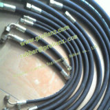 ウクライナへの鋼鉄Wire Embedded Rubber Water Hose