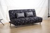 ステンレス鋼の足(2509)を搭載するベッド付きのFlanneletteのソファー