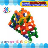 Particelle elementari da tavolino di plastica del girasole del giocattolo dei bambini