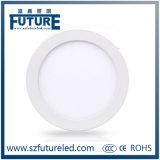 상업적인 사용을%s 최고 호리호리한 라운드 24W LED 역광선 위원회