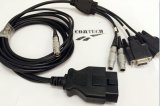 De Kabel van Obdii 16p+dB 9p *2+Renault 2p*3