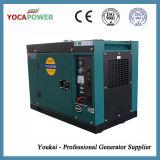 Le vendite calde 7kw si dirigono il tipo silenzioso produzione di energia di uso di generazione diesel raffreddata aria del piccolo di motore diesel generatore elettrico di potenza con AVR