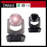 Luz principal movente do feixe da lavagem do ponto