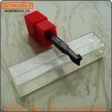 2 CNC van de fluit de Stevige Molen HRC55 van het Eind van het Carbide