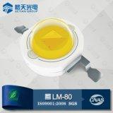 Larga vida útil confiable LED blanco caliente 1W PCB blanco Heasink