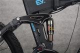 '' bicicleta elétrica de dobramento da montanha 26 com bateria escondida