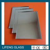 espejo de cristal de aluminio del claro de 4m m para los diseños interiores y las decoraciones