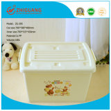 Ustomized Highquality Plastic Storage Box mit Wheels (15L~160L)