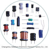 Inductor Wirewound de la bobina del inductor/de estrangulación de la potencia del Lgb para la TV