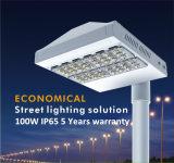 Indicatore luminoso di via esterno di IP65 LED con 5 anni di garanzia (QH-LD2C-100W)