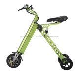 Veicolo elettrico della rotella di verde due di modo/bici elettrica pieghevole