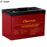 Bateria de alta temperatura do gel das baterias recarregáveis 12V 110ah