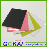 Bereiftes Farben-Acrylblatt für das Bekanntmachen