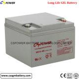 Batería de almacenaje profunda certificada UL de la energía solar del ciclo del gel
