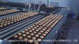 Forno de túnel da fornalha de túnel, linha da produção alimentar, linha de produção do bolo do pão. Fábrica real desde o forno de túnel do diesel 1979