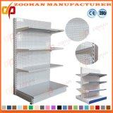 Mensole della mensola di visualizzazione del supermercato dei fori perforati del metallo di buona qualità (Zhs129)