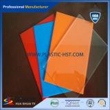 Hoja azul de policarbonato opal PC Doble pared hueca