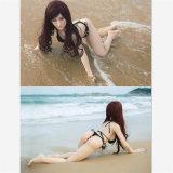 Sexo en la muñeca del sexo de la muchacha del sexo del bikiní de la playa (los 140cm)