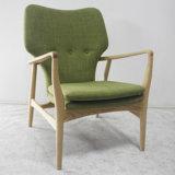 나무로 되는 가구 거실 북유럽 디자인 직물 소파 의자