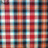 Il filato tessuto del popeline di cotone ha tinto il tessuto per le camice/vestito Rls40-43po degli indumenti