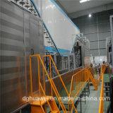 Linha do pó do pulverizador para o absorvente de choque