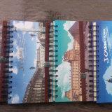 Fourniture de bureau Hard Cover Spiral School Lined Grid 40k Notebook