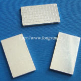 Plaque de contact de métallurgie des poudres en métal/feuilles argentées de tungstène pour le disjoncteur miniature