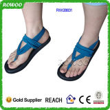 새로운 Elastic Straps (RW28831C)를 가진 Design Fashion Women Yoga Sandals