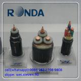 Tiefbau150 Sqmm 8.7kv kupfernes elektrisches kabel