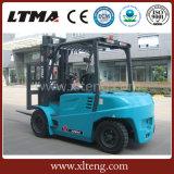 Ltmaの新しいデザイン電気フォークリフト6トン電池のフォークリフト